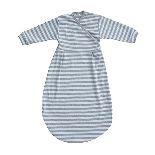 Popolini - Schlafsack Felinchen (62/68, blue grey striped)