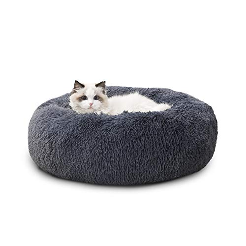 Bedsure Panier Chat Rond Moelleux - Coussin Chat...