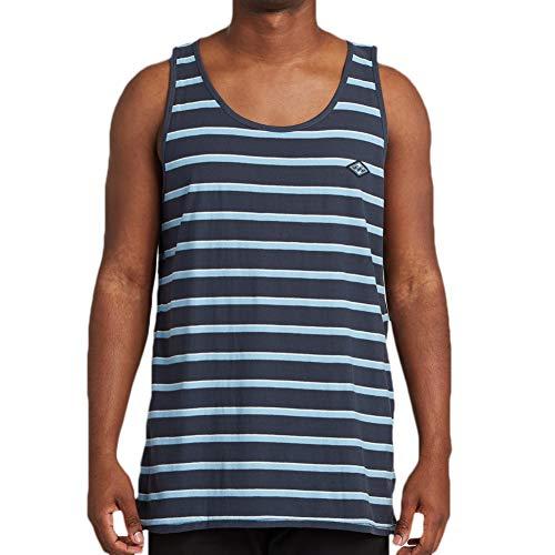 BILLABONG - Camiseta de tirantes troquelada para hombre, talla XL, color índigo oscuro