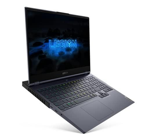 "Lenovo Legion 7 - Portátil Gaming 15.6"" FullHD 240Hz (Intel Core i7-10750H, 16GB RAM, 512GB SSD, GeForce RTX 2080 Super Max-Q 8GB, Sin Sistema Operativo), Gris - Teclado QWERTY español"