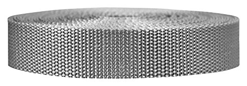 Strapworks - Correa de Polipropileno Resistente para reparación de Equipos de Bricolaje al Aire Libre, 1 Pulgada por 10, 25 o 50 Yardas, más de 20 Colores