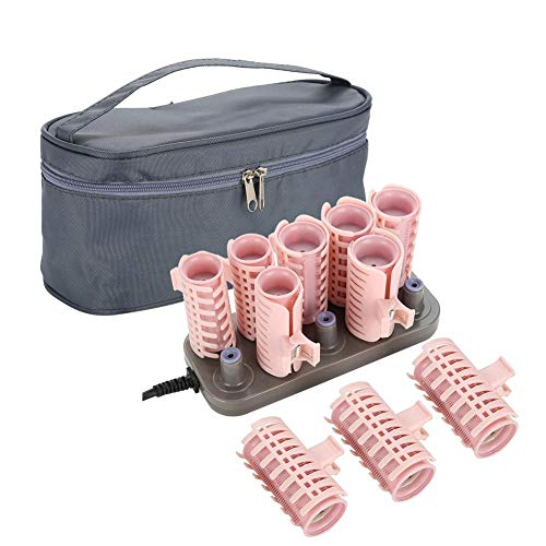 Rollers Hot Pod Hair Styling Tool, 10Pcs Professional Electric Heated Roller Curling Roll DIY Hairstyles Hair Tube (Upgrade Style)