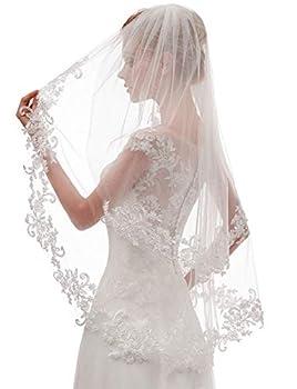 ivory veils bridal wedding