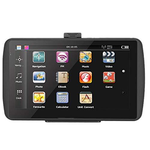 Navigazione GPS Aramox, Navigatore da 7 pollici HD Touch Screen Navigator per Auto da 256 MB Navigatore FM da 8 GB