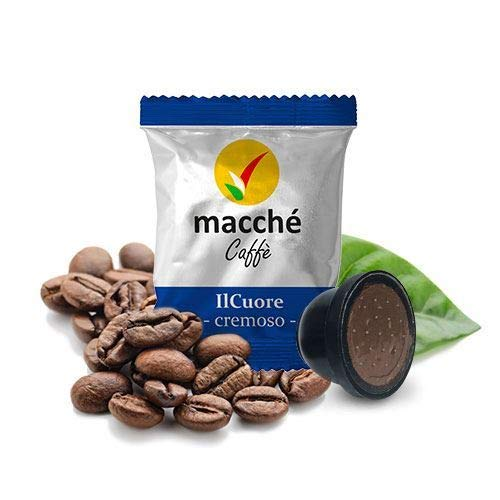 100 Capsule Compatibili Domo Cuorespresso Macché Caffè IlCuore Cremoso