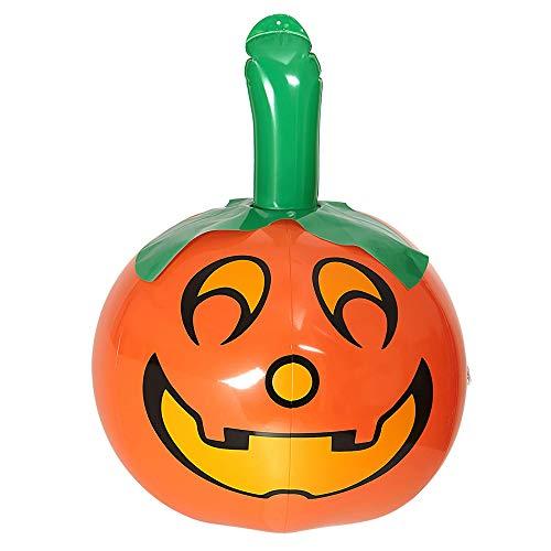 Widmann Inflatable Pumpkin 46cm Halloween Accessory