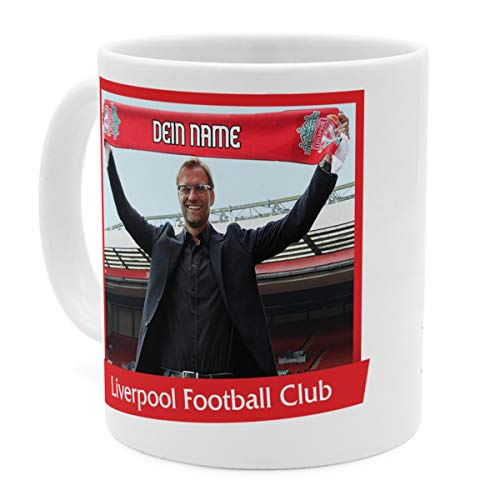 PhotoFancy Tasse Liverpool mit Namen personalisiert - Design Liverpool FC Manager