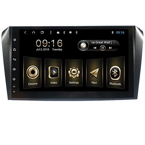 TOPNAVI 9inch Auto Multimédia pour Mazda3 2006 2007 2008 2009 Android 8.1 Auto Navigation GPS Radio Stéréo avec ROM 32Go 2Go de RAM WiFi 3G RDS Lien Miroir FM AM Bluetooth Audio Vidéo