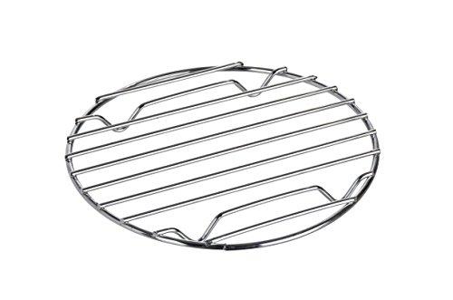 WENKO Topfuntersetzer Cali Ø 20 cm, verchromtes Metall, 20 x 20 cm, Chrom
