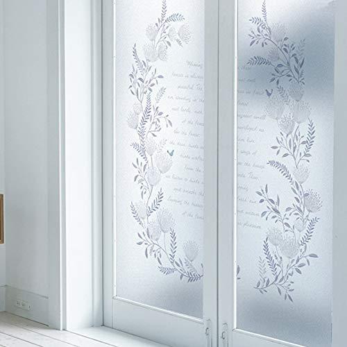 Vinilo adhesivo para ventana con diseño de letras de amor, opaco y tintado, Como se muestra en la imagen, 45X60cm
