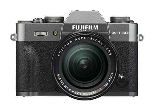 FUJIFILM ミラーレス一眼カメラ X-T30レンズキット チャコールシルバー X-T30LK-CS
