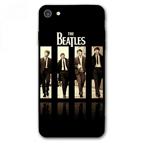 iPhone 7 Case,iPhone 8 Case,Rock Band Silicone Bumper Frame and PC Back Cover Cases for iPhone 7/8 4.7' (Beatles)