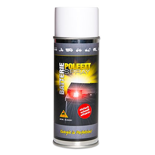 Batterie Polfett Spray Kontaktfett Batteriepol Elektronik Fett Polschutz 400 ml