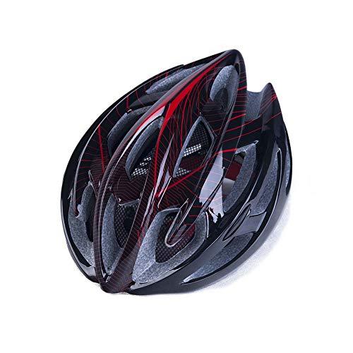 ALSGON Casco Ciclismo Especializado,Adulto MontañA Specialized Material Duradero Ajustable Seguridad ProteccióN Ligero...