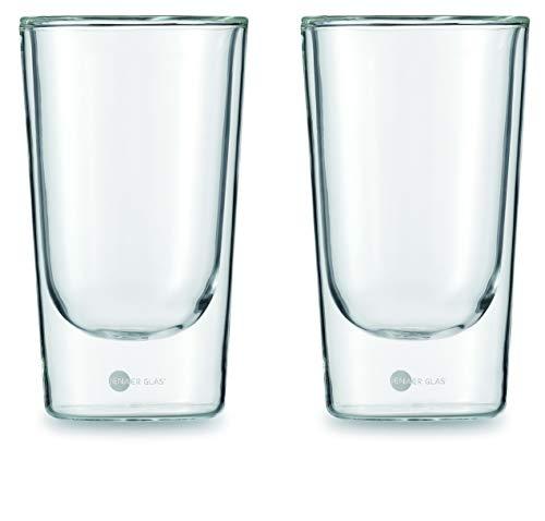 Jenaer Glas 115903 Becher, transparent, 2 Einheiten