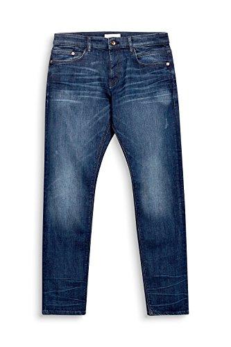 Esprit 998ee2b804 Vaqueros Slim, Azul (Blue Dark Wash 901), W36/L34 para Hombre