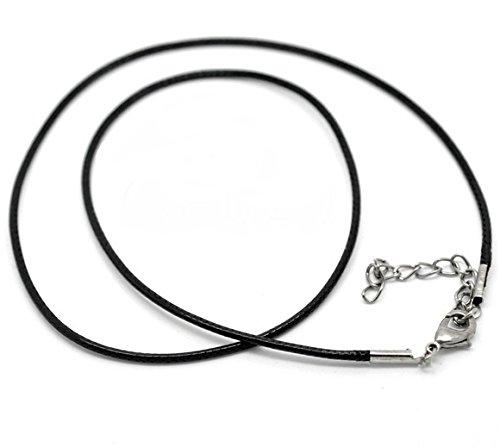 SiAura Material ® - 5X Wachsband schwarz 47cm