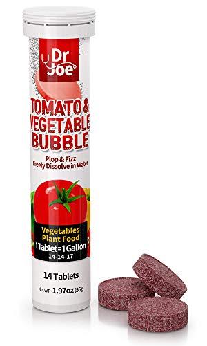 Dr. Joe Tomato & Vegetable Bubble Plant Food Soluble Fertiliser - Outdoor...