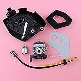 YIGIAO Kit de Juntas de arandela de Filtro de Aire de línea de Combustible de carburador para Honda GX35 GX 35 Piezas de Repuesto de Motor de cortacésped de 4 Tiempos