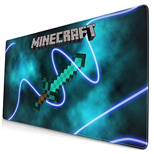 Tttyy Mauspad Mi.Ne-Craft Großes Gaming-Mousepad Erweiterte Schreibtischmatte Ultradickes Mousepad für Office Gamer Home 30X80 cm