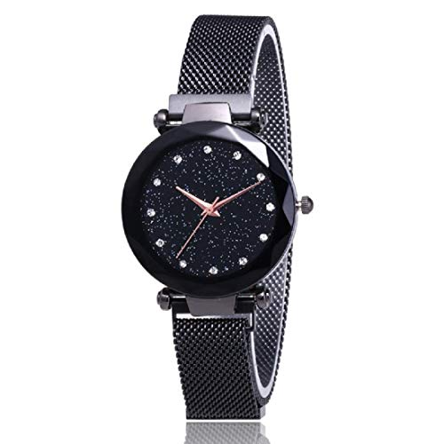 Mr. Brand MA-2 Luxury Mesh Magnet Buckle Starry Sky Quartz Watches for...