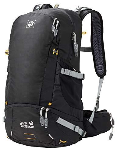 Jack Wolfskin Moab Jam 34 Wandern Outdoor Trekking Rucksack, black, 57x34x9 cm