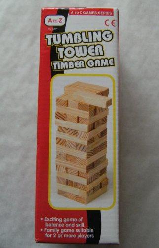 Madera Agitación Torre Juego [Juguete]