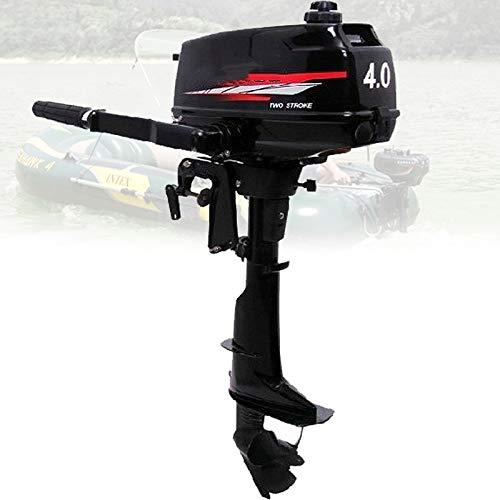QQ HAO Motor De Barco Fuera De Borda, 2 Golpes 4HP Aire De Servicio Pesado Barco De Enfriamiento De Aire Motor del Motor para El Barco De Pesca Inflable Kayak Canoa Boting