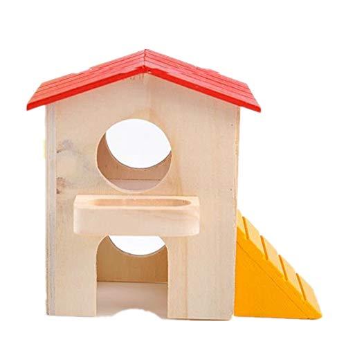 lffopt Hamster Maison Lapin Hamster Jouets Nain Hamster Cage Hamster Accessoires Hamster