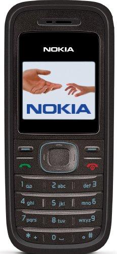 Nokia 1208 black Cellulare (Display a colori, Organizer, Giochi)
