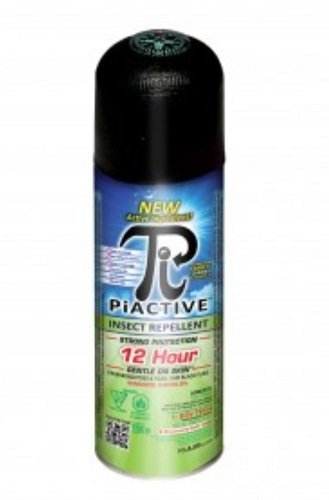 PIACTIVETM Toute la famille 100% Deet Free 12hr! 150g Sac sur valve airosol équivalent à 214g