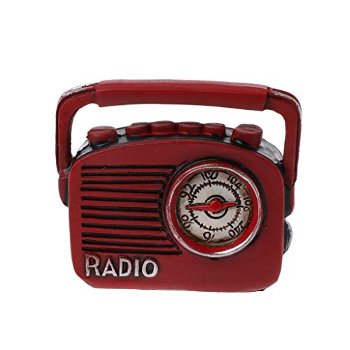 VIccoo Radio Fotografie Props, geboren Fotografie Prop Radio Creatieve Fotoshoot Instrumenten Baby Foto-Accessoires