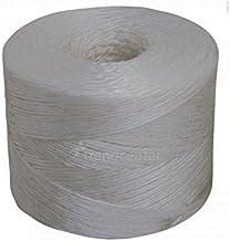 PP koord wit 1-voudig 700m snoer garen binddraad 4 Stück