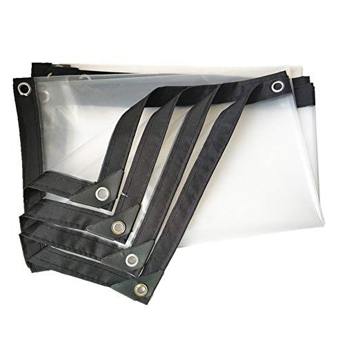 Bâches claires, Tissu en Plastique antipoussière de bâche de Voiture Transparente épaisse imperméable de 0.12mm de Devoir (Size : 3m×7m)
