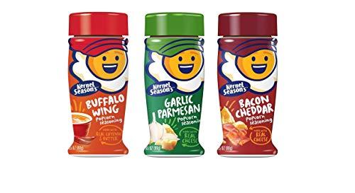 For Sale! Kernel Season's Popcorn Seasoning Kit KICKIN' BACK IN THE MANCAVE Sampler Set Buffalo Wing...