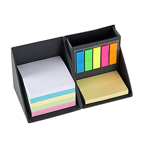 Soporte plegable multifunción para lápices de notas, organizador de suministros de escritorio para lápices, bolígrafos, notas adhesivas, suministros de oficina, caja de almacenamiento
