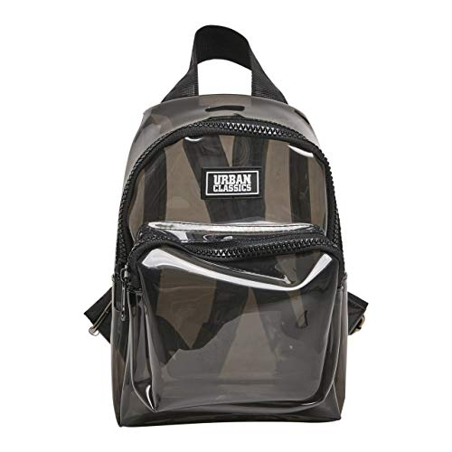 Urban Classics Transparent Mini Backpack Mochila tipo casual 2.7 Negro