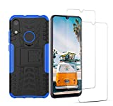 VGANA Case and 9h Tempered Glass for Huawei Y6S 2019,