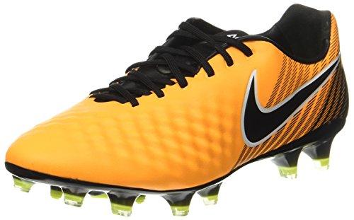 Nike Men's Magista Opus II FG Soccer Cleats (9, Orange/Black-White-Volt)