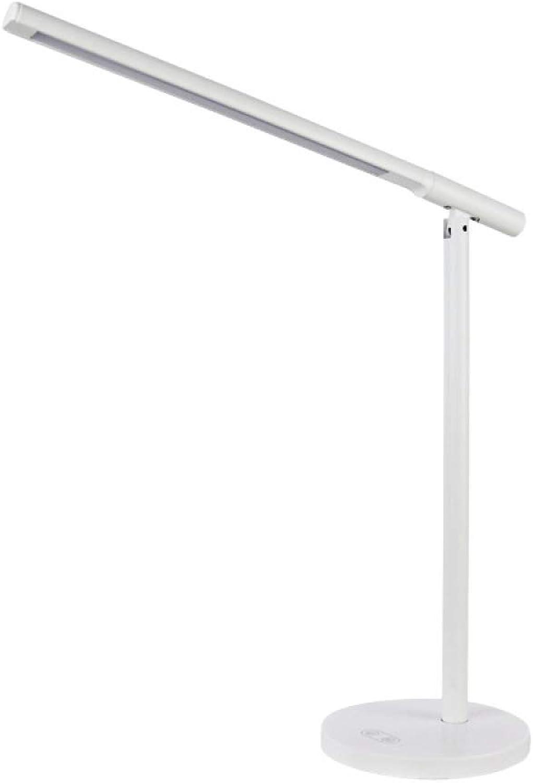 Skoy iyue LED-Tischleuchte, Einfach, Augenschutz, Lesen, Lernen, Falten,Weiß