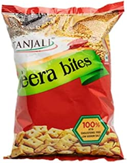 JEERA BITES 65GM/Crunchy Healthy Biscuits with Wholesome Ingredients -65gm
