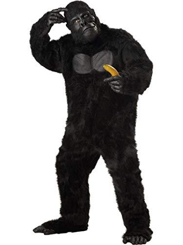 California Costumes 01010PLUS - Disfraz de Gorila Para Hombre Talla Plus 4XL - 5XL EU