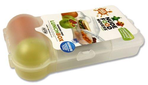 Smash 606223 Lunch-Box XXL mit 3-Kammer-Unterteilung, Gittereinsatz und extra Dosen für Obst, Joghurt und mehr