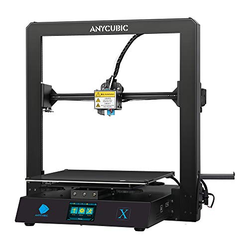 ANYCUBIC 3D Printer MEGA X, Metal Frame FDM 3D Printer with Resume Print and Free 1kg PLA Filament, Build Size 300X300X305mm