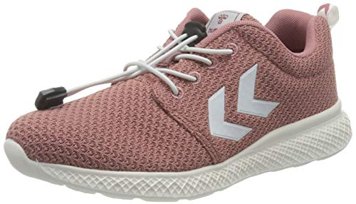 hummel Unisex-Kinder Race JR Sneaker, ASH Rose,31 EU