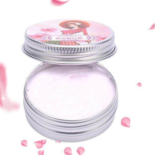 Crema schiarente schiarente, crema corpo rosa intimo fiore per la cura del corpo privata delle ascelle del labbro del capezzolo