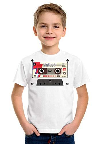Stardust Old Cassette Boombox Unisex kinderen 5-13 jaar wit