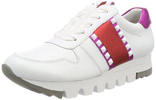 Kennel und Schmenger Kennel und Schmenger Damen Lion Sneaker, Weiß (Bianco/Fuxia/Campari Sohle Weiß), 41 EU (7.5 UK)