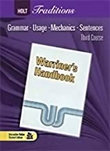 Holt Handbook Third Course Answer Key
