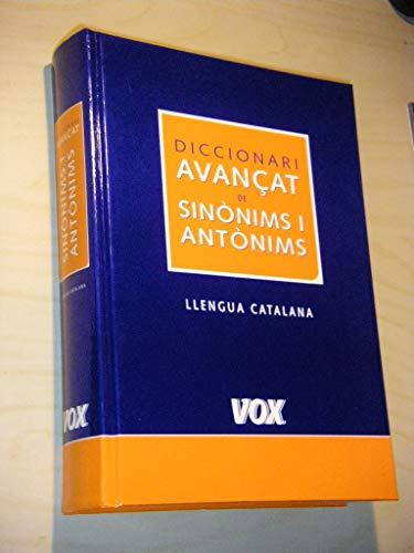 Diccionari avançat de sinonims I antonims de la llengua catalana
